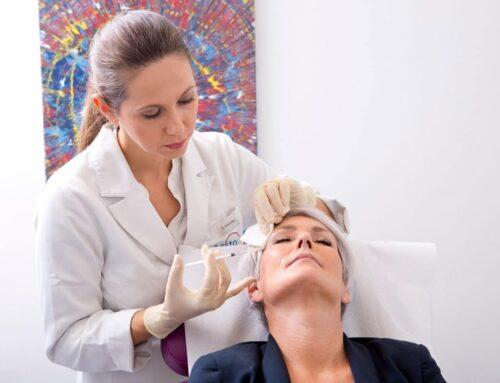 Ablauf der Behandlung Botox gegen Schwitzen